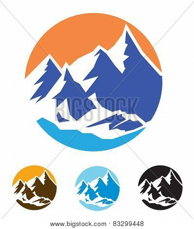 Symbol Of Mountains