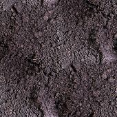 stock photo of farm land  - dirt seamless texture  soil land  texture terra background - JPG