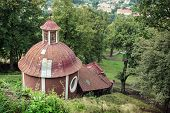 picture of banska  - Calvary in Banska Stiavnica Slovak republic Europe - JPG