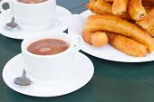 picture of churros  - traditional spanish pastry  - JPG