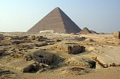Tourists And Piramids poster