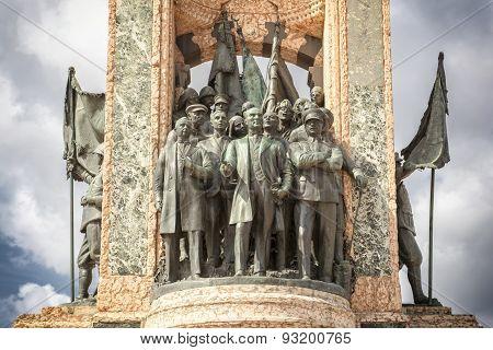 Republic Monument, Istanbul, Turkey