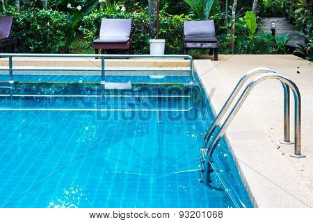 Stair Of Swimming Pool