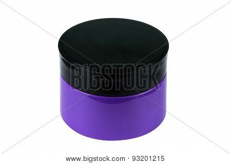 Cosmetic Packaging, Cream, Powder Or Gel Jar With Cap