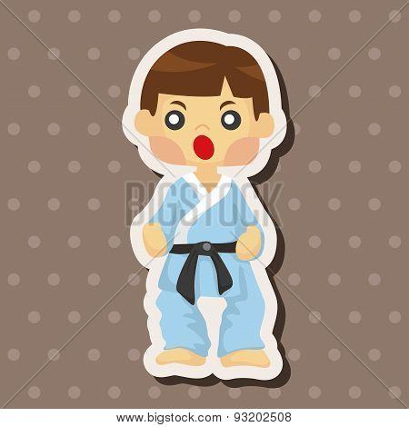Taekwondo Theme Elements