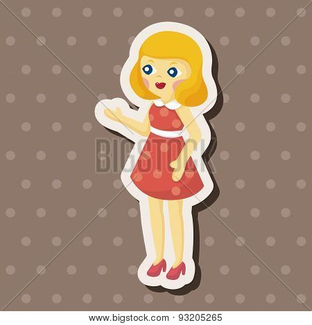 Baby Doll Theme Elements