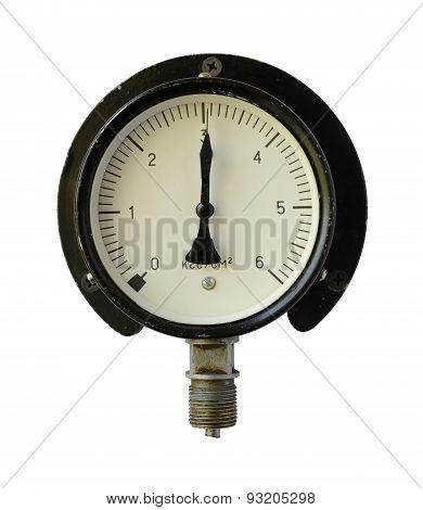 Pressure Measuring Instrument.