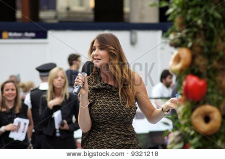Lisa Snowdon At Eat Prey Love Premiere In Central London 22Nd September 2010