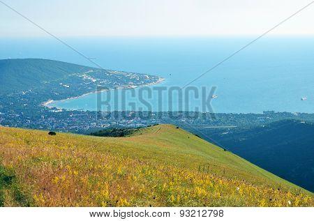 View Of Cape Doob In Black Sea
