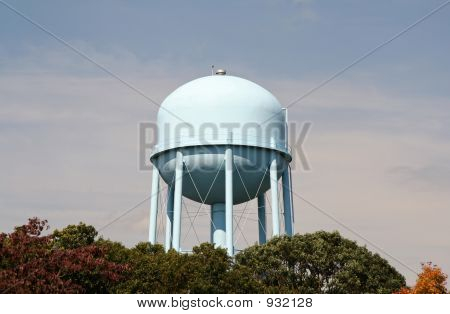 Water Tower With Clear