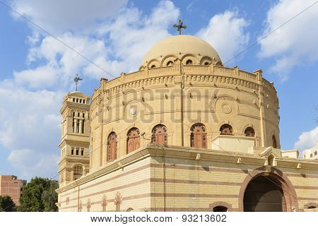 The Church of Saint George in Coptic Cairo - Cairo, Egypt