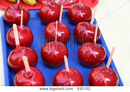 Red Candy Covered Apples