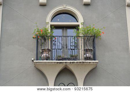 A Spanish Balcony