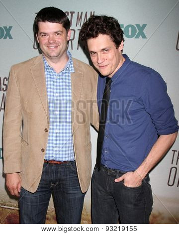 LOS ANGELES - JUN 10:  Christopher Miller, Phil Lord at the FOX's