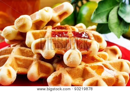 Waffles Homemade