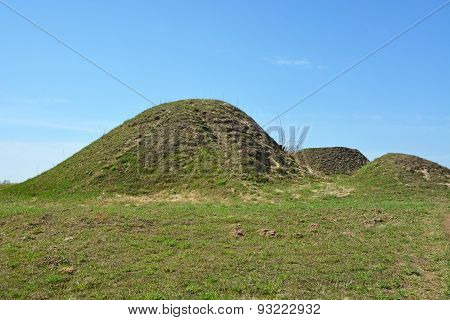 Burial Mound- The Place, As A Legend Says, Where Is The Prophetic Oleg Funeral