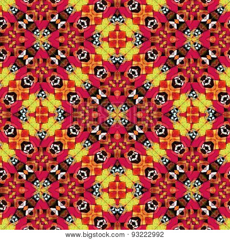 Colorful Geometric Modern Seamless Pattern