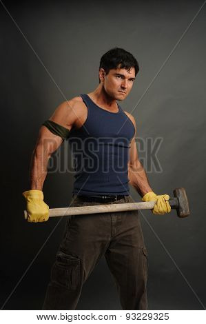 deviant construction man