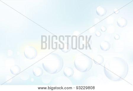 Sopa Bubbles Pattern Background Vector Illustration