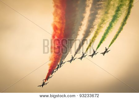 aerobatic Team performing