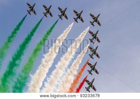 aerobatic Team performing