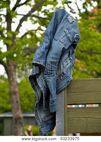 Blue Jeans Denim Jacket
