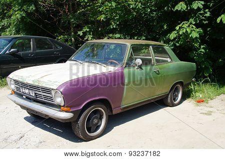 Vintage old Opel Kadett B