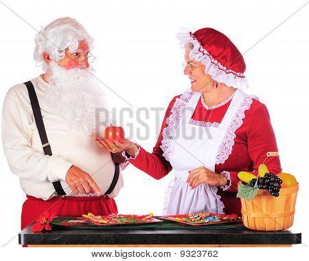 Santa Prefers A Cookie
