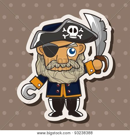 Pirate Theme Elements
