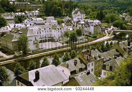 Views Of Bouillon, Belgium