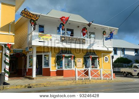 Historic building in George Town, Cayman Islands