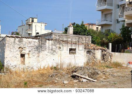 Old Ruined Uninhabited House