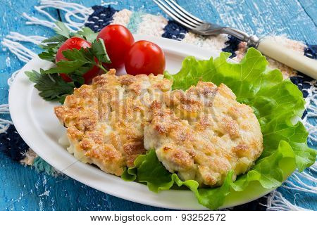 Chopped Pork Cutlets