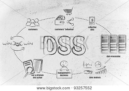 Business Intelligence Cycle And Dss Software