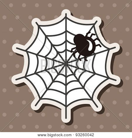 Halloween Spider Theme Elements