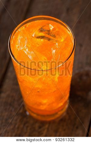Refreshing Orange Cream Soda