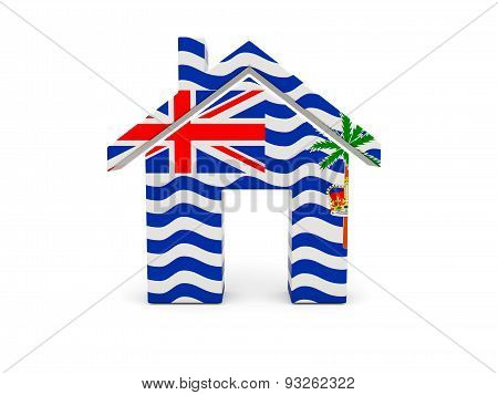 Home With Flag Of British Indian Ocean Territory