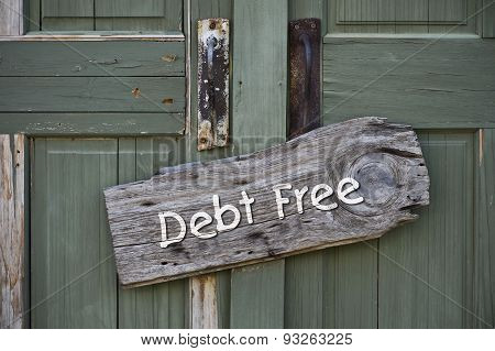 Debt Free.