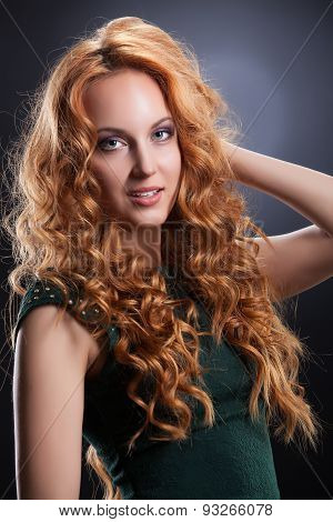 Young Red- Haired Woman