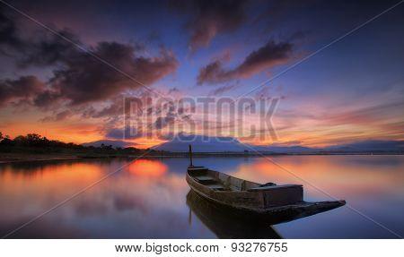 Andaman Long Tailed Boat