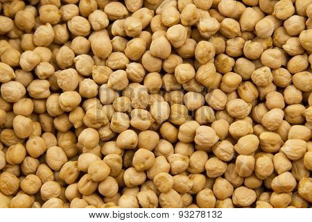 Background From Natural Chickpea. Indian Cuisine