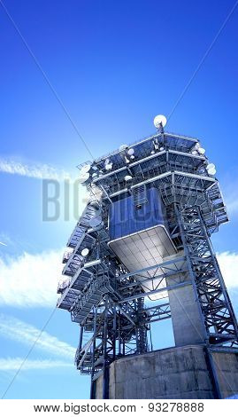 Observatory Control Tower Structure