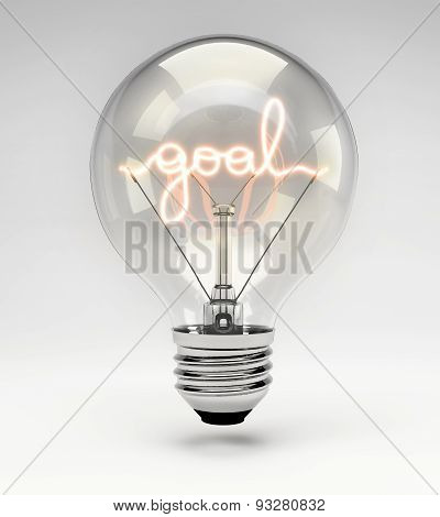 Conceptual Light Bulb (set) - Goal
