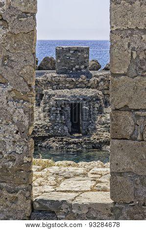 Kales Fort Rampart In Lerapetra
