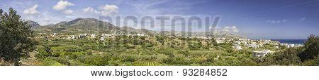 Makrygialos Panorama