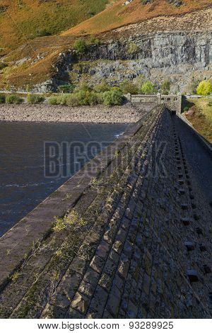 Top Of Dam, Caban Coch Reservoir