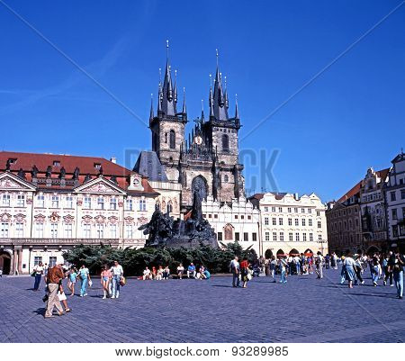 The Tyn Church, Prague.