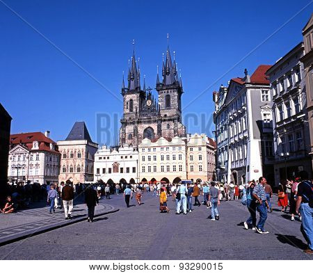 The Tyn Church, Prague.