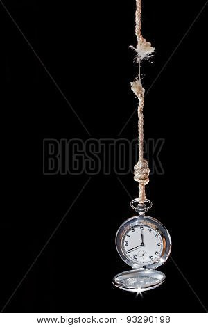 Pocket Watch Time Is Ending