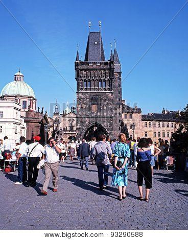 Old town bridge tower, Prague.
